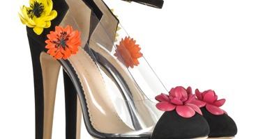 66ec3026a1da5 بالصور.. أحذية بألوان الربيع تزيد أناقة المرأة وأنوثتها - اليوم السابع
