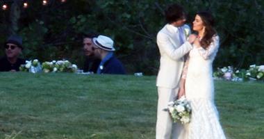 بالصور.. المواقع العالمية تؤكد زواج إيان سومرهالدر ونيكى ريد