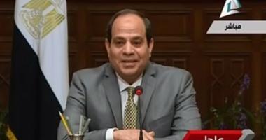 السيسي: من حاولوا عزل مصر وحصارها لم ينجحوا ووعى المصريين يزداد كل يوم