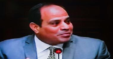 بالفيديو.. السيسي: نحن فى أصعب ظروف تواجه الوطن فى تاريخه المعاصر