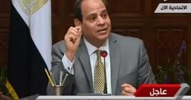 بالفيديو.. السيسي: نتعرض لمحاولات هدم قدرة الدولة قيادة وشعباً وإفقاد معنوياتها