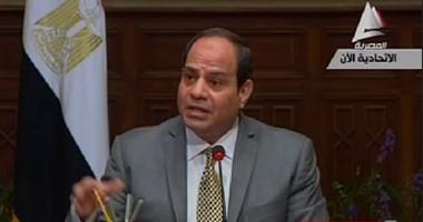 السيسي: لم نعط ذرة رمل للسعودية.. ولم نتداول الموضوع لعدم إيذاء الرأى العام