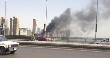 السيطرة على حريق 5 سيارات إسعاف داخل جراج مستشفى القصر العينى
