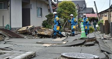 ارتفاع حصيلة قتلى زلزال اليابان إلى 30 شخصا