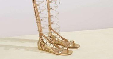 bc66b26385da9 أحذية الجميلات فى 2017 يسيطر عليها الفضى والذهبى - اليوم السابع