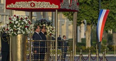 فرانسوا هولاند: أمن مصر يمثل أمنًا لمنطقة الشرق الأوسط وأوروبا