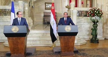 المصريون بالخارج: زيارة هولاند للقاهرة مهمة فى ظل صراعات المنطقة