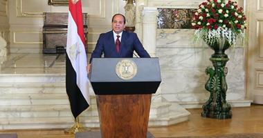 السيسى: زيارة الرئيس الفرنسى لمصر تؤكد تطور العلاقات بين البلدين