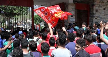 الأمن يمنع الألتراس من دخول الأهلى لحضور مباراة اليد أمام الجزيرة