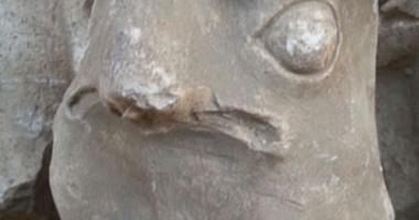 "بالصور.. ضبط 3 تماثيل لـ""حورس"" ومقصورة امتداد لمعبد داخل منزل بسوهاج  42016190341922642016190114726817345"