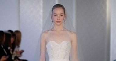 e6364156b فساتين زفاف ناعمة من مجموعة دار أزياء Oscar de la Renta - اليوم السابع