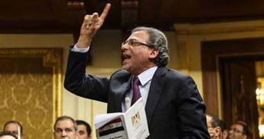 """خالد يوسف لـ""""خالد صلاح"""": يجب حل أزمة الداخلية والصحفيين قبل الانفجار"""
