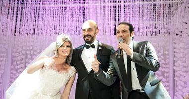 بالصور.. سعد الصغير يحيى حفل زفاف ناريمان وأحمد