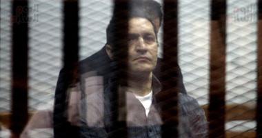 """بالفيديو.. تأجيل محاكمة جمال وعلاء مبارك بـ""""التلاعب بالبورصة"""" لدور انعقاد شهر سبتمبر"""