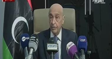 عقيلة صالح: نرفض أن تعمل حكومة الوفاق تحت حماية ميليشيات طرابلس