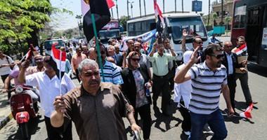 تزايد أعداد المواطنين فى احتفالات 25 أبريل