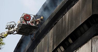 مصرع 7 أشخاص فى حريق مركز تجارى بالهند والنيران تحاصر 25 آخرين