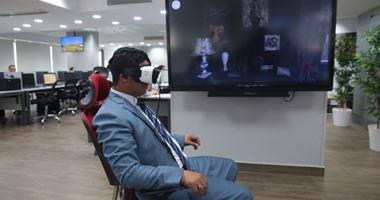 """بالصور.. جولة بنظارة الواقع الافتراضى سامسونج Gear VR 2 فى """"اليوم السابع"""""""