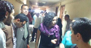 رفع أولى جلسات محاكمة سناء سيف فى اتهامها بإهانة القضاء لإصدار القرار