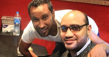 """بالصور.. حسام البيجرمى وجلال فهمى يقدمان """"محمود شرقاوى"""" فى أول ألبوم"""