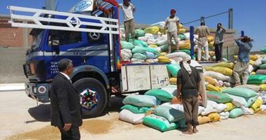 ارتفاع معدلات توريد القمح المحلى إلى مليون و990 ألف طن