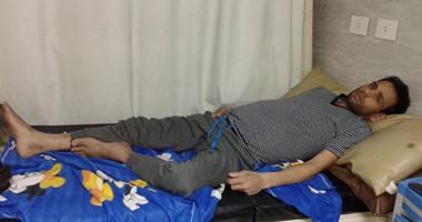 شاب يرقد بمستشفى الدمرداش يحتاج لـ40 ألف جنيه لاستكمال عملية زرع كبد