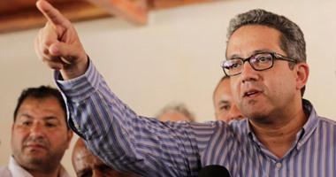 وزير السياحة يتابع التدابير الوقائية ضد كورونا بالمتحف القومى للحضارة بالفسطاط