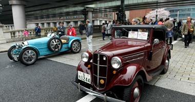 لعشاق العربات العتيقة.. صور من معرض اليابان للسيارات الكلاسيكية 2016