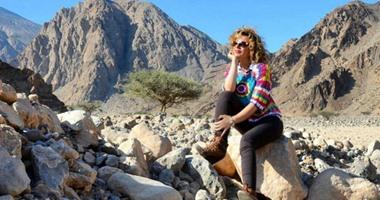 سوزان نجم الدين: أعشق تلك اللحظات التى أهرب فيها إلى الطبيعة