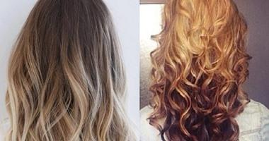 موضة ألوان صبغات الشعر