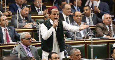 النائب مهدى العمدة بمؤتمر دعم السيسي: خابت مخططات الغرب لضرب مصر على رمال سيناء