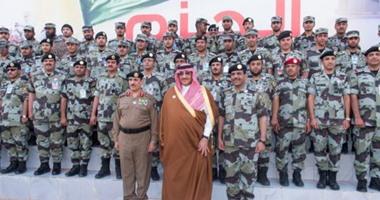 بالصور ولى العهد السعودى يشهد تمارين قوات الطوارئ الخاصة اليوم السابع