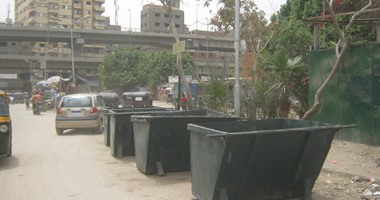 محافظة الجيزة: سرقة صناديق القمامة 4 مرات من منطقة ترعة الإخلاص