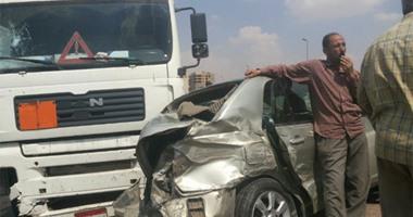 مصرع شخص وإصابة 7 آخرين فى حوادث تصادم بكفر الشيخ