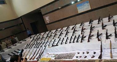 ضبط 53 بندقية وتنفيذ 77 ألف حكم خلال 24 ساعة