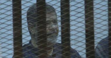 """السجل الجنائى للرئيس الأسبق محمد مرسى.. حكم عليه بالسجن 20 عاما فى """"أحداث الاتحادية"""".. ينتظر رأى المفتى بقضية """"الهروب من سجن وادى النطرون"""".. و2 يونيو الحكم عليه بـ""""التخابر مع حماس"""""""