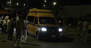 هجوم إرهابى على كمين شرطة بالعريش