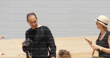 أخبار مصر العاجلة جمال مبارك وأسرته فى زيارة للأهرامات اليوم