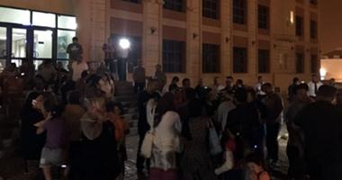 """""""واتس آب اليوم السابع"""": سكان """"مدينتى"""" يغلقون البوابات بسبب انقطاع المياه"""