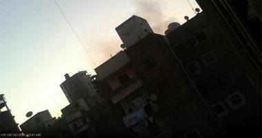 """""""واتساب اليوم السابع"""": اندلاع حريق بإحدى عقارات كفر الشيخ"""