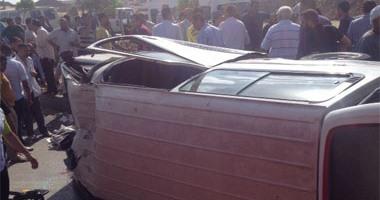ننشر أسماء 23 شخصا ضحايا ومصابى 3 حوادث بالبحيرة  اليوم السابع
