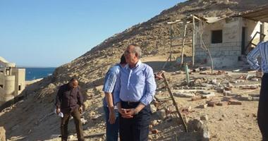 محافظ البحر الأحمر يلتقى رئيسة التخطيط العمرانى لتجميل الغردقة