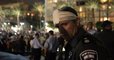 بالصور.. استمرار اشتباكات ميدان رابين وإصابة 47 من الشرطة والمتظاهرين