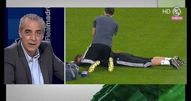 رعب فى تدريبات ريال مدريد بعد سقوط  رونالدو