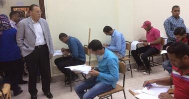 اخبار التعليم اليوم 3-1-2016 زيادة عن 5000 طالب يؤديون امتحان النقل الفنى بمحافظة السويس