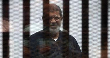 """بدء جلسة محاكمة """"مرسى"""" و24 آخرين بقضية """"إهانة القضاء"""""""