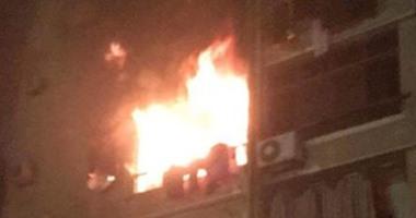 السيطرة على حريق داخل شقة سكنية فى المعادى دون اصابات