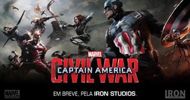 """Captain America: Civil War"" يتصدر شباك التذاكر الأمريكى"