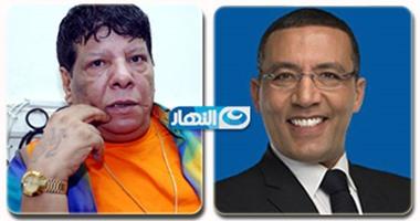 لقاء بين الصحفى خالد صلاح و شعبان عبد الرحيم فى برنامجه على هوى مصر
