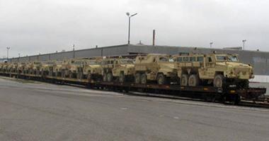 بيان للسفارة الأمريكية: مصر تتسلم اليوم أول شحنة مركبات مدرعة مضادة للألغام
